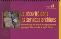 AAF - La sécurité dans les services archives.