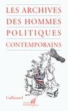 AAF - Les archives des hommes politiques contemporains.