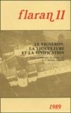 Commission d'histoire de Flara - Flaran N° 11, 1989 : Le vigneron, la viticulture et la vinification - En Europe occidentale au Moyen Age et à l'époque moderne.