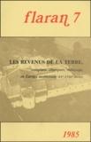 Commission d'histoire de Flara - Flaran N° 7, 1985 : Les revenus de la terre, complant, champart, métayage en Europe occidentale.