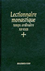 Deedr.fr Lectionnaire monastique de l'office divin - Tome 5, Temps ordinaire, 12e - 23e semaines Image