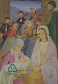 Abbaye ND de l'Annonciation - Cartes de voeux Douce nuit - Lot de 8.