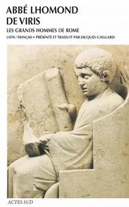 Livres téléchargeables en ligne De viris. Les grands hommes de Rome par Abbé Lhomond 9782330083311