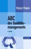 ABC des Qualitätsmanagements.