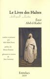 Abd el Kader - Le livre des Haltes.
