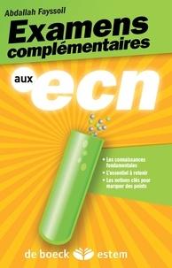 Deedr.fr Examens complémentaires aux ECN Image