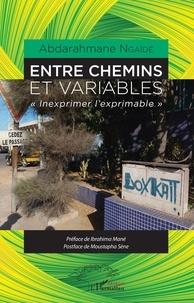 """Abdarahmane Ngaïdé - Entre chemins et variables - """"Inexprimer l'exprimable""""."""