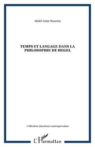 Accentsonline.fr Temps et langage dans la philosophie de Hegel Image