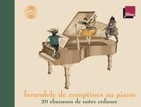 Abdel Rahman El Bacha et Marianne Vourch - Farandole de comptines au piano - 20 chansons de notre enfance. 1 CD audio MP3