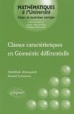 Abdelhak Abouqateb et Daniel Lehmann - Classes caractéristiques en géométrie différentielle.