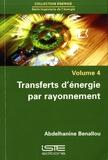 Abdelhanine Benallou - Transferts d'énergie par rayonnement.