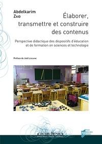Goodtastepolice.fr Elaborer, transmettre et construire des contenus - Perspective didactique des dispositifs d'éducation et de formation en sciences et technologie Image