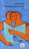 Abdellah Baïda - Testament d'un livre.