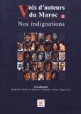Abdellah Baïda et Mamoun Lahbabi - Voix d'auteurs du Maroc - Tome 2, Nos indignations.