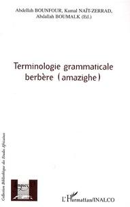 Deedr.fr Terminologie grammaticale berbère (amazighe) Image