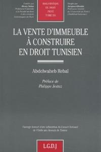 La vente dimmeuble à construire en droit tunisien.pdf