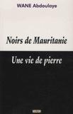 Abdoulaye Wane - Noirs de Mauritanie - Une vie de pierre.