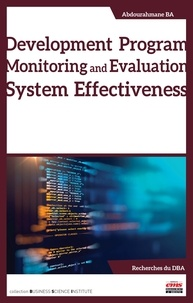 Abdourahmane Ba - Development Program Monitoring and Evaluation System Effectiveness.
