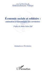 Abdourahmane Ndiaye - Economie sociale et solidaire : animation et dynamiques des territoires.