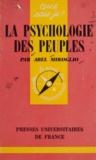 Abel Miroglio et Paul Angoulvent - La psychologie des peuples.