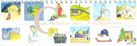 Abigail Krupp - Calendrier des 3 religions 2001.