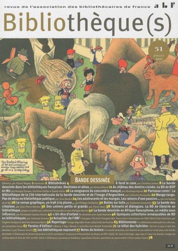 Philippe Levreaud - Bibliothèque(s) N° 51, Juillet 2010 : Bande dessinée.