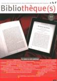 ABF - Bibliothèque(s) N° 64, Octobre 2012 : La chaîne du livre numérique.