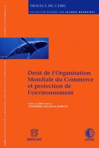 Deedr.fr Droit de l'Organisation Mondiale du Commerce et protection de l'environnement Image