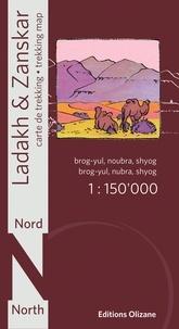 Abram Pointet - Ladakh &  Zanskar nord - 1/150 000.