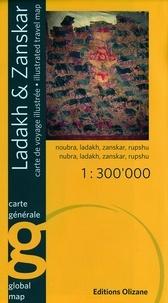 Abram Pointet - Ladakh & Zanskar - 1/300 000.