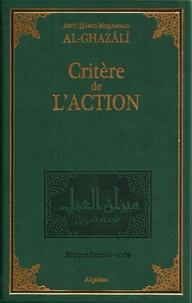 Abu Hamid Alghazali - Critère de l'action - Mizan al-amal.