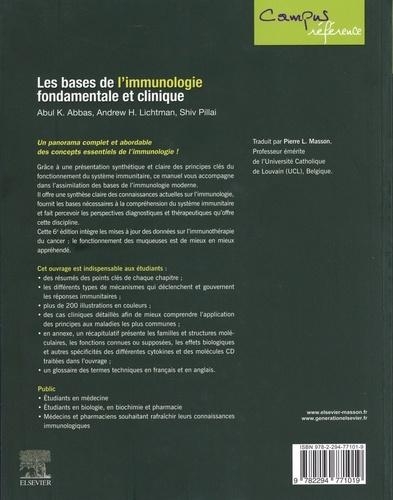 Les bases de l'immunologie fondamentale et clinique 6e édition