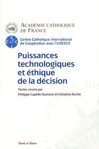 Académie Catholique de France - Puissances technologiques et éthique de la décision.