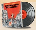 Accordzéâm et Dominique Grange - Chacun de vous est concerné - Avec un disque vinyle 33T.