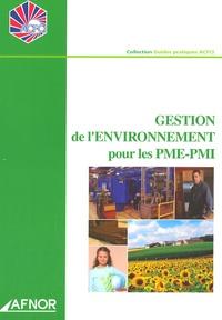 ACFCI - Gestion de l'environnement pour les PME-PMI.