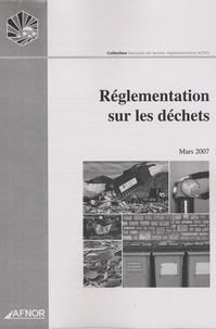 ACFCI - Réglementation sur les déchets.