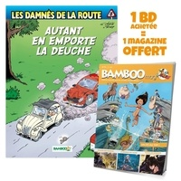 Achdé et  Rudy - Les damnés de la route Tome 8 : Autant en emporte la deuche - Avec Bamboo Mag N° 73, juillet-août-septembre 2021 offert.