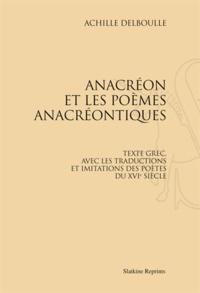 Checkpointfrance.fr Anacréon et les poèmes anacréontiques Image