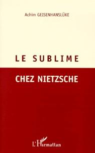 Le sublime chez Nietzsche.pdf
