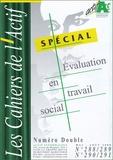 Guy Cauquil - Les Cahiers de l'Actif N° 288-289 / 290-291 : Spécial évaluation en travail social.