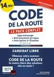 Activ Permis - Code de la route - Le pack complet : Apprentissage, Entrainement en ligne, Inscription à l'examen.