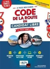 Activ Permis - Je passe mon examen code de la route en candidat libre - Le pack complet.