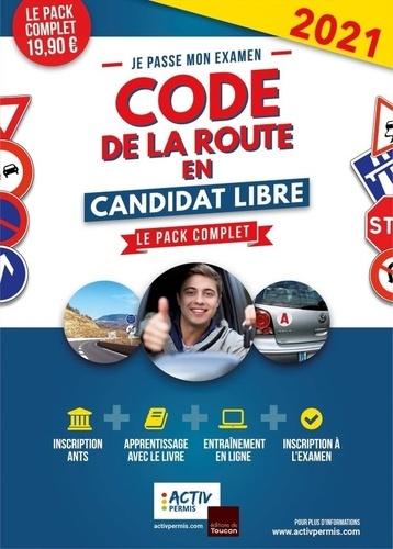 Je passe mon examen code de la route en candidat libre  Edition 2021-2022