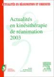 SRLF - Actualités en kinésithérapie de réanimation 2003. - 16ème congrès de la Société de kinésithérapie de réanimation.