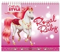 Ad'Lyn et Christine Alcouffe - Royal Ruby.