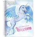 Ad'lynh et Christine Alcouffe - Mon carnet créatif licornes.