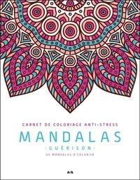 Ada Editions - Mandalas guérison - 40 mandalas à colorier.