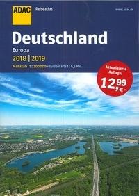 ADAC Verlag - Deutschland Europa Reiseatlas - 1/200 000.