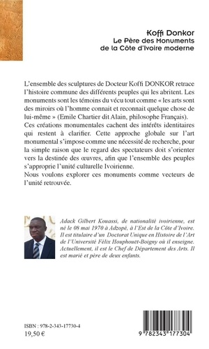 Koffi Donkor. Le père des monuments de la Côte d'Ivoire moderne