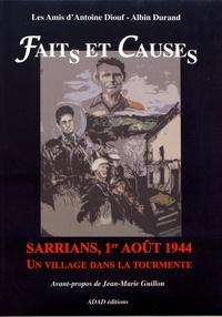 Accentsonline.fr Faits et causes - Sarrians, 1er août 1944, un village dans la tourmente Image
